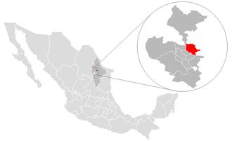 Apodaca - Image: Apodaca location
