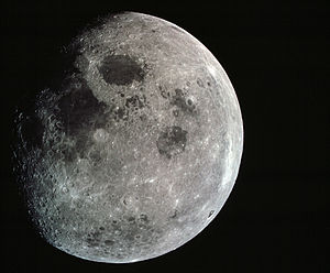 Lunar and Planetary Institute - Moon from Apollo 8  December 22, 1968