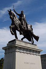 A Apoteose de São Luís (Estátua equestre em St. Louis no Missouri, EUA por Charles Henry Niehaus)