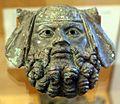Applique in bronzo con testa virile, I-III secolo ca.jpg