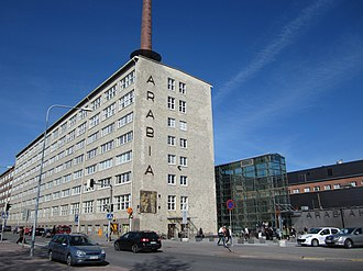 Aalto University School of Arts, Design and Architecture - The old Arabia ceramics factory where part of the Aalto University School of Arts, Design and Architecture was located until July 2018.