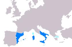 La Corona de Aragón en su máximo esplendor.