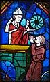 Archbishop Gauthier Cornut Displaying the Crown of Thorns, Germany 1260-70 (5459153578).jpg