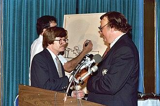 Archie Goodwin (comics) - Archie Goodwin (left)