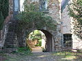 Archway by the Great Hall Montsalvat.JPG