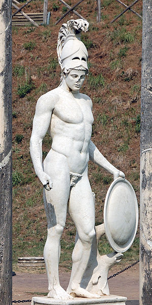 Statue of Ares in Hadrian's Villapo