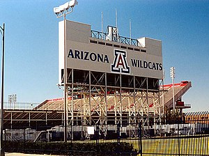 Football & Basketball Facilities U Arizona Foo...