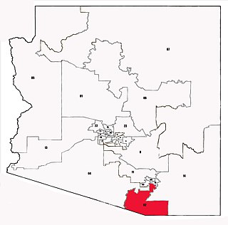 Arizonas 2nd legislative district Legislative district in Arizona, United States