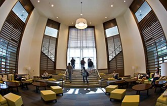 University of Redlands - Naslund Study Lounge in Armacost Library
