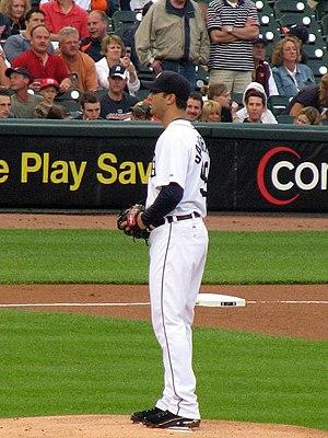 Armando Galarraga - Galarraga with the Detroit Tigers