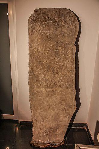 Armazi - Armazi stele of Serapit.
