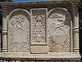 Armenian Genocide memorial at the Armenian Catholic Patriarchate in Bzoummar, Lebanon.JPG