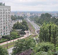 Armii Krajowej street in Częstochowa 2.jpg