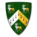 Armorial Bearings of the GREENLY family of Titley Court and of Woodhall Hill, Herefs.png