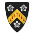 Armorial Bearings of the WOODHOUSE family of Aramstone, King's Caple, Herefordshire.png