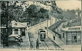 Image illustrative de l'article Tramway de Brest au Conquet