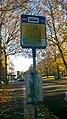 Arubastraat bus stop sign, Groningen (2018) 07.jpg