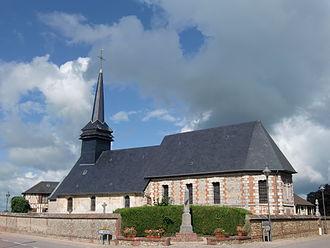Asnières, Eure - Image: Asnières église