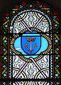 Assais-les-Jumeaux église Jumeaux vitraux choeur armoiries (2).JPG