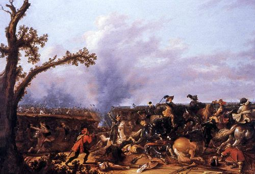 Gustavus Adolphus in the Battle of Lutzen by Jan Asselijn Asselijn - Gustavus Adolphus in der Schlacht von Lutzen.jpg