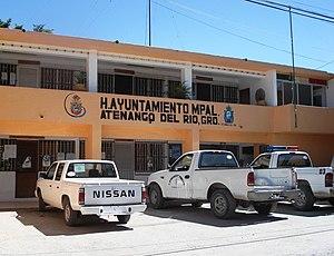 Atenango del Río (municipality) - Image: Atenango del Río H. Ayuntamiento