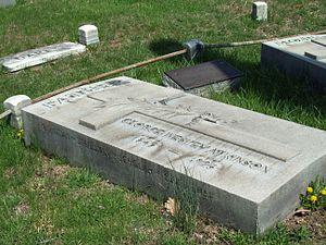 George W. Atkinson - Image: Atkinson Grave Apr 09