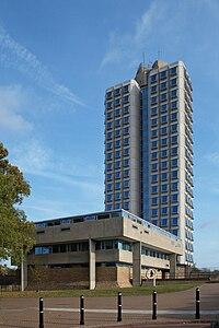 Attenborough Tower, Leicester University.jpg