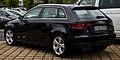 Audi A3 Sportback 1.8 TFSI Ambiente (8V) – Heckansicht, 30. August 2014, Düsseldorf.jpg