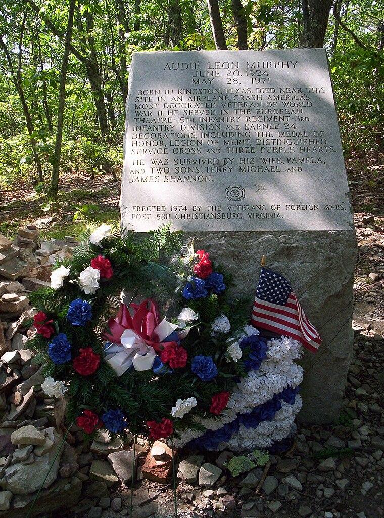 File Audie Murphy Monument Jpg Wikipedia