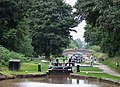 Audlem Locks, Shropshire Union Canal, Cheshire - geograph.org.uk - 580006.jpg