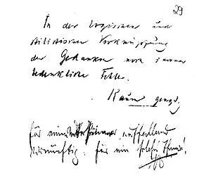 Siegesallee - Kaum genügend (just satisfactory, Schroeder) und auffallend vernünftig für solch ein Thema (strikingly rationable for such a topic Wilhelm II.)