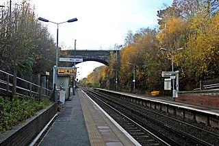 Aughton Park railway station