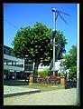 August Thunderstorm Germany The Steel-Stork street statues - Master Habitat rhine valley Photography 2013 Calamity Nannys roman war services - panoramio.jpg