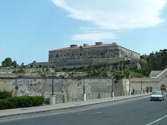 Augusta, Sicily - Hohenstaufen Castle.