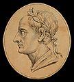 Augustus Caesar; profile. Drawing, c. 1789. Wellcome V0009110.jpg