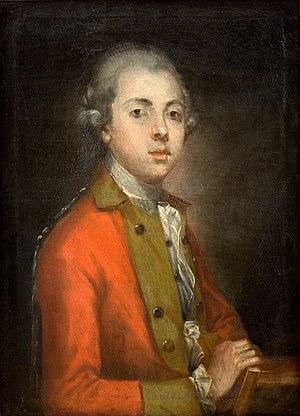 Augustyn Mirys - Portrait of Kajetan Węgierski, 1772