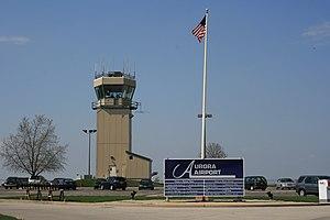 Aurora Municipal Airport - Image: Aurora Municipal Airport (Illinois) 1