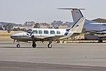 Australian Aerial Surveys (VH-XLA) Piper PA-31-350 Navajo Chieftain taxiing at Wagga Wagga Airport.jpg