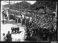 Australian troops marching on Randwick Road in Sydney (6961779710).jpg