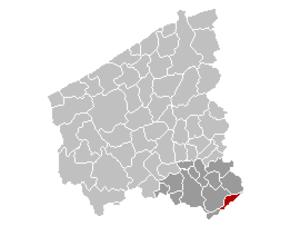 Avelgem - Image: Avelgem Location