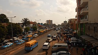 Capital and largest city of Guinea-Bissau
