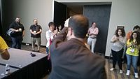 Avner and Darya's wiki Wedding at Wikimania by ovedc 32.jpg