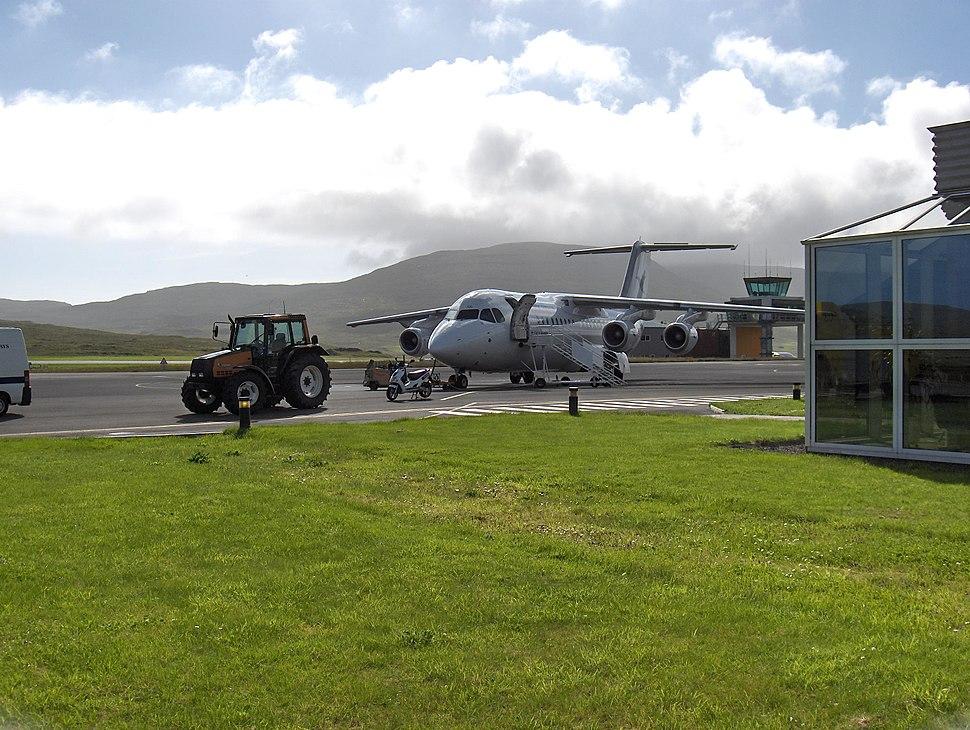 Avro at Vagar Airport
