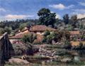 Azenhas do Pavia (c. 1914) - José de Almeida e Silva.png