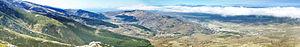 Sierra de Béjar (mountain range) - Panorama