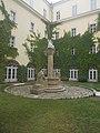 Béke kút (Ligeti Miklós, 1916), Központi Papnevelő Intézet, 2016 Belváros-Lipótváros.jpg