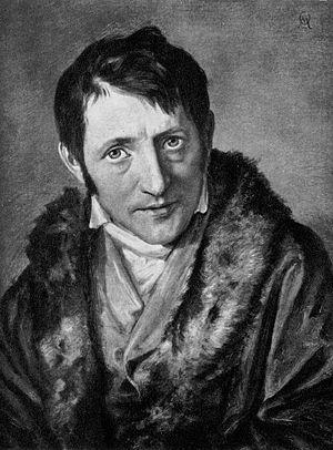 Ludwig Börne - Painting by Moritz Daniel Oppenheim