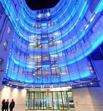 BBC - BBC New Broadcasting House, London which came into use during 2012–13