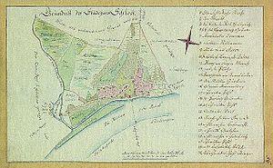 Sloka, Latvia - Sloka in the late 18th century.  Johann Christoph Brotze.