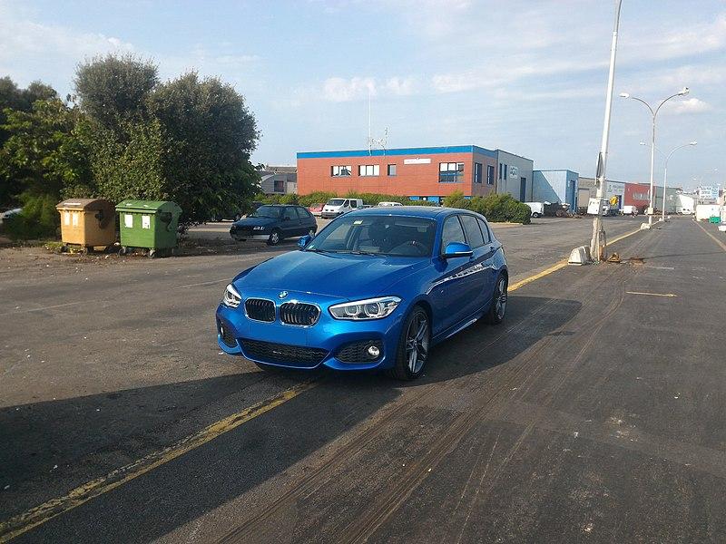 BMW Série 1 118d (F20) avec le pack M Sport - restylage de 2015
